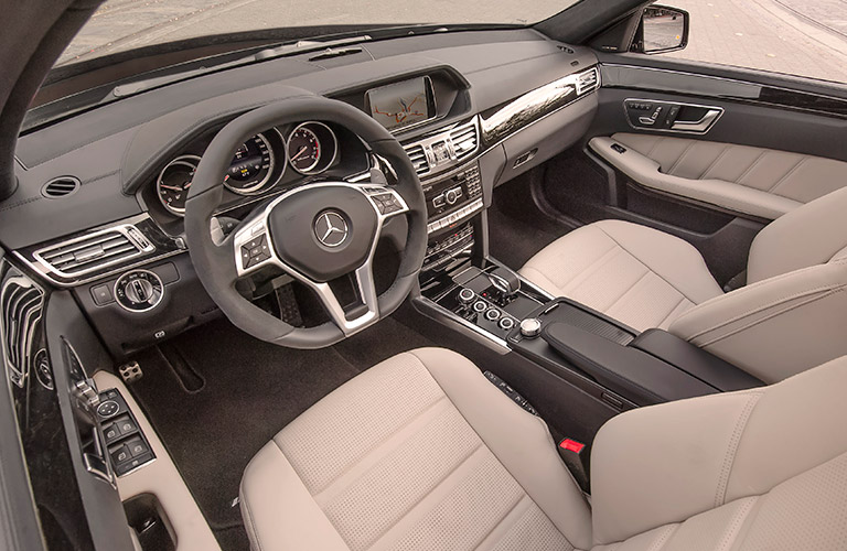 2018 Mercedes-AMG E63 seating