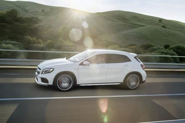 2018 mercedes benz gla new technology and features for Mercedes benz latest technology