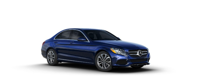 2018 Mercedes-Benz C-Class brilliant blue metallic