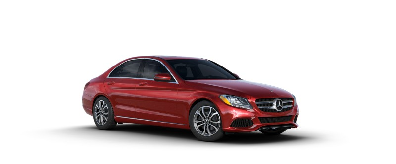 2018 Mercedes-Benz C-Class cardinal red metallic