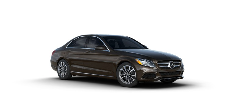 2018 Mercedes-Benz C-Class dakota brown metallic