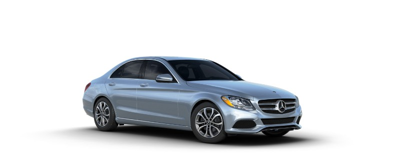 2018 Mercedes-Benz C-Class diamond silver metallic