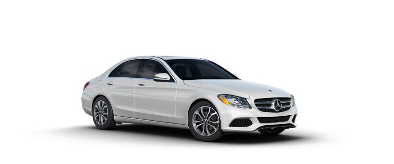 2018 Mercedes-Benz C-Class diamond white metallic