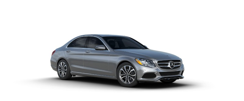 2018 Mercedes-Benz C-Class iridium silver metallic