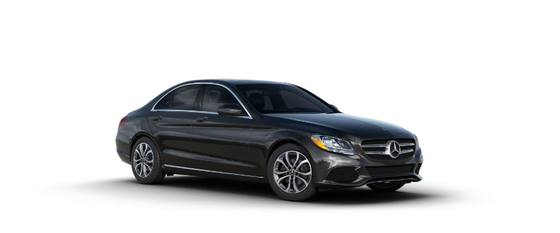 `2018 Mercedes-Benz C-Class obsidian black metallic