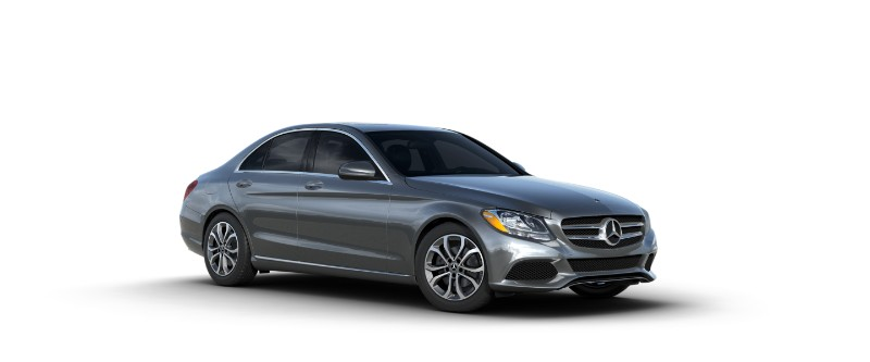 2018 Mercedes-Benz C-Class selenite grey metallilc