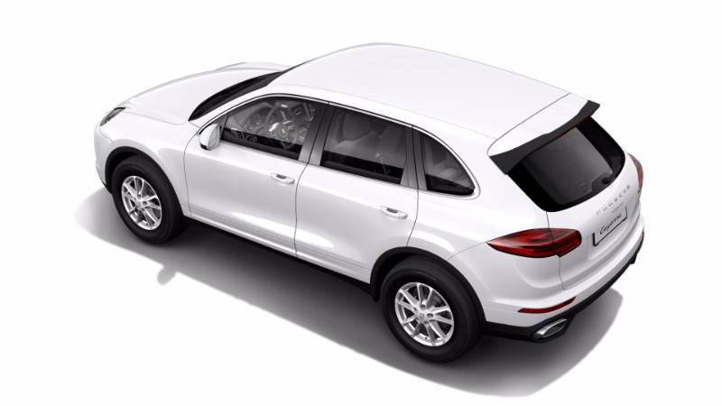 2018 Porsche Cayenne Carrara White Metallic