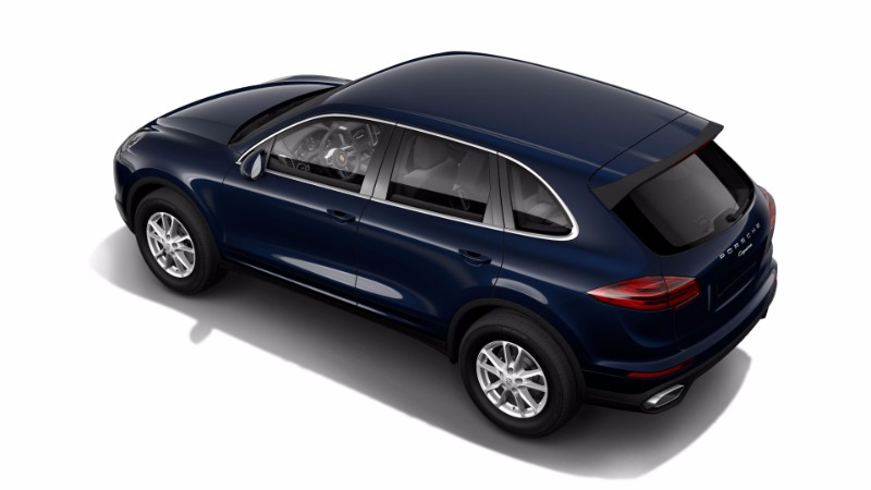 2018 Porsche Cayenne moonlight Blue