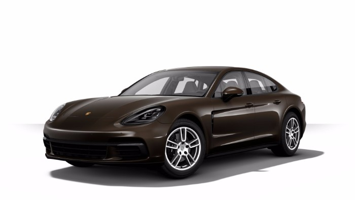 2018 Porsche Panamera risetto brown