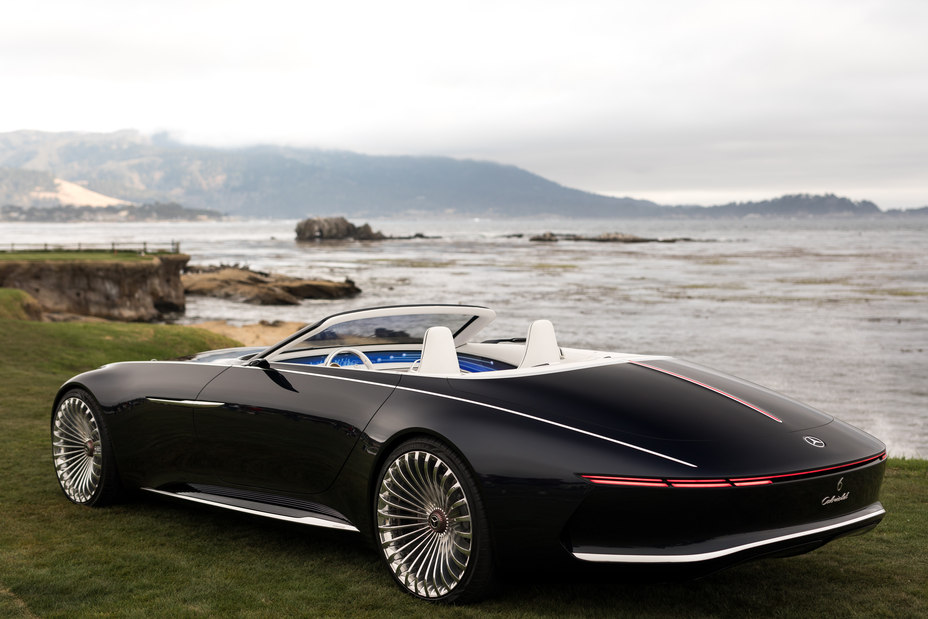 Vision Mercedes-Maybach 6 Cabriolet rear top down
