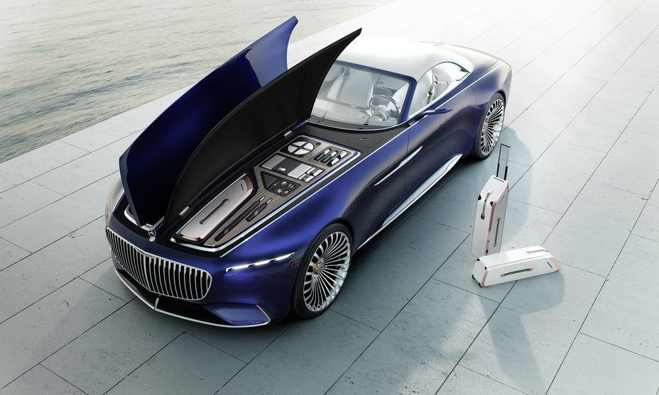 Vision Mercedes-Maybach 6 Cabriolet hood opened