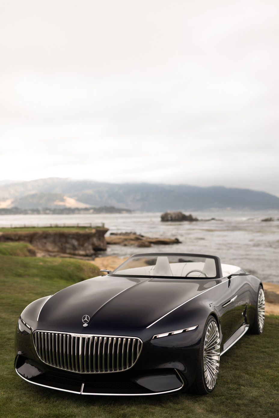 Vision Mercedes-Maybach 6 Cabriolet front angle