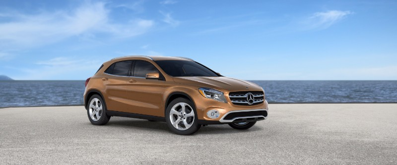 2018 Mercedes-Benz GLA Canyon Beige Metallic