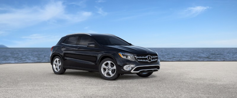 2018 Mercedes-Benz GLA Cosmos Black Metallic