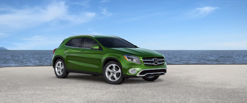 2018 Mercedes-Benz GLA Kryptonite Green Metallic