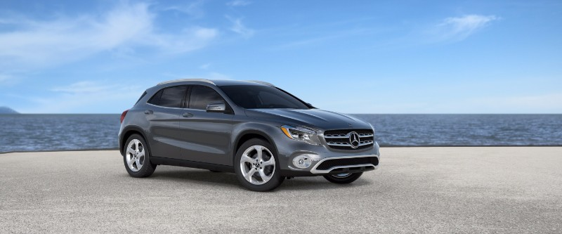 2018 Mercedes-Benz GLA Mountain Grey Metallic