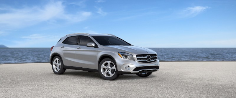 2018 Mercedes-Benz GLA Polar Silver Metallic
