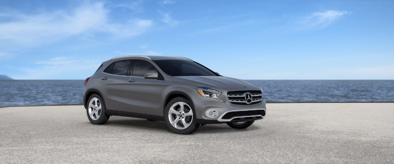 2018 Mercedes-Benz GLA designo mountain grey metallic