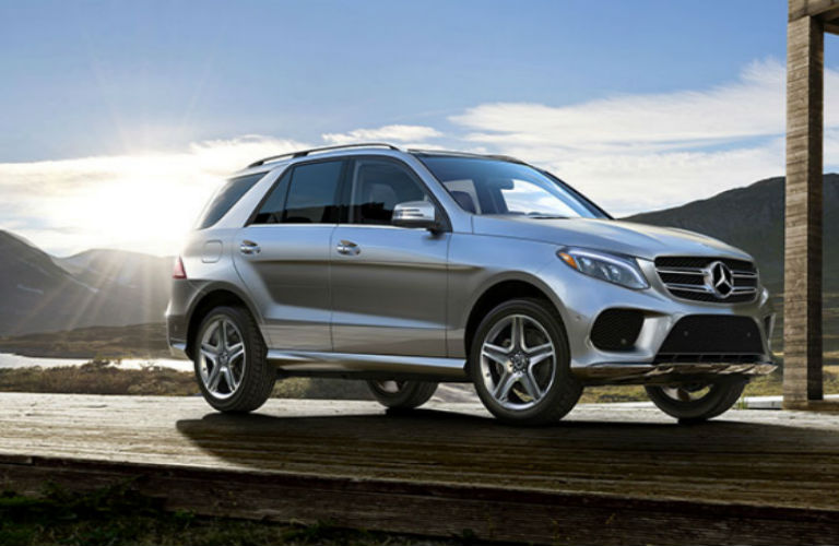 2018 Mercedes-Benz GLE SUV in silver