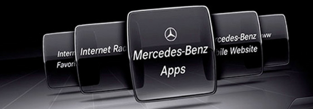 What features come with the mbrace connect package for Mercedes benz com connect