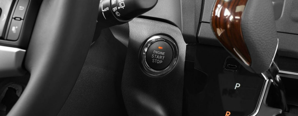 How To Operate Toyota Smart Key And Push Button Start