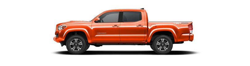 What Are The 2017 Toyota Tacoma Exterior Color Options