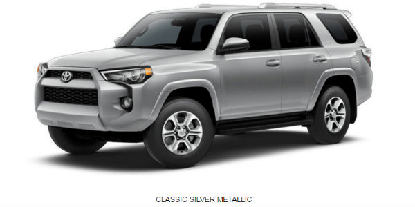 what are the 2017 toyota 4runner exterior color options On 2017 toyota 4runner exterior colors