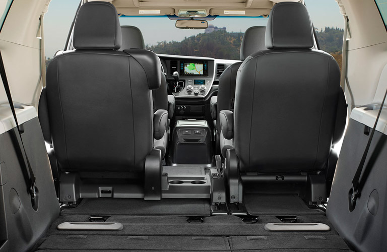 2017 toyota sienna seating capacity and cargo volume. Black Bedroom Furniture Sets. Home Design Ideas