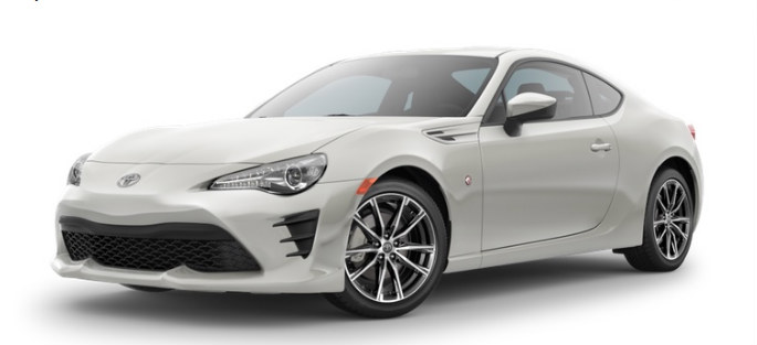 What Color Choices Are Available For The 2017 Toyota 86