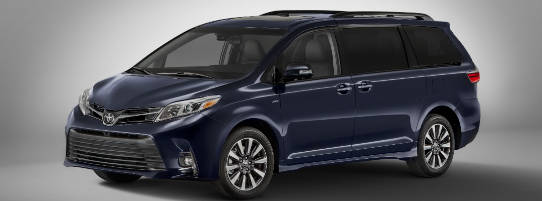 What changes are being made to the 2018 Toyota Sienna
