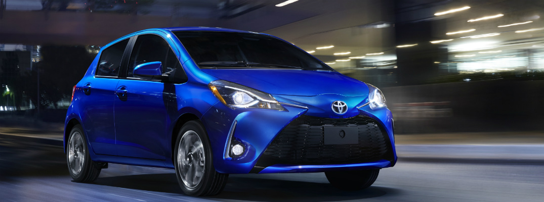 How much is the 2018 Toyota Yaris Hatchback?