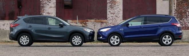 2014 ford escape vs 2014 mazda cx 5. Black Bedroom Furniture Sets. Home Design Ideas