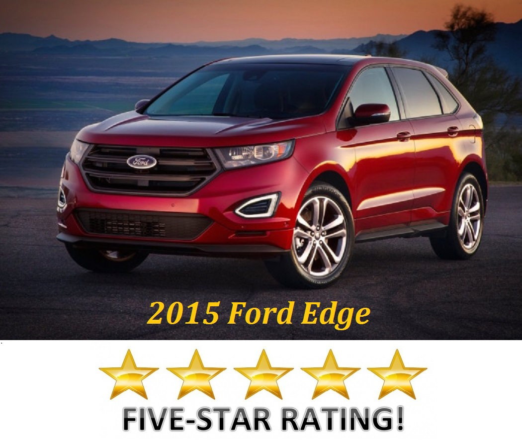 2015 ford edge earns 5 stars beach ford. Black Bedroom Furniture Sets. Home Design Ideas