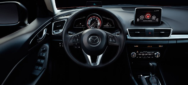 Features of new Mazda3