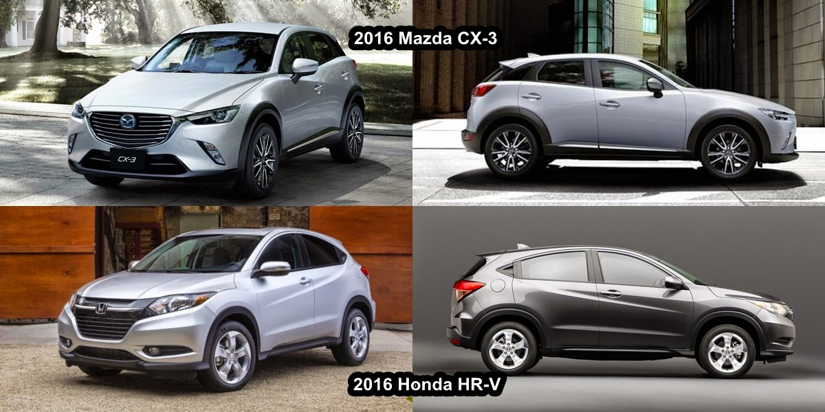 Mazda Cx 3 Vs Honda Hr V  parison on technology auto parts