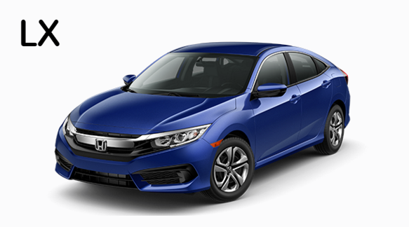 2016 Honda Civic Color Choices: What's New