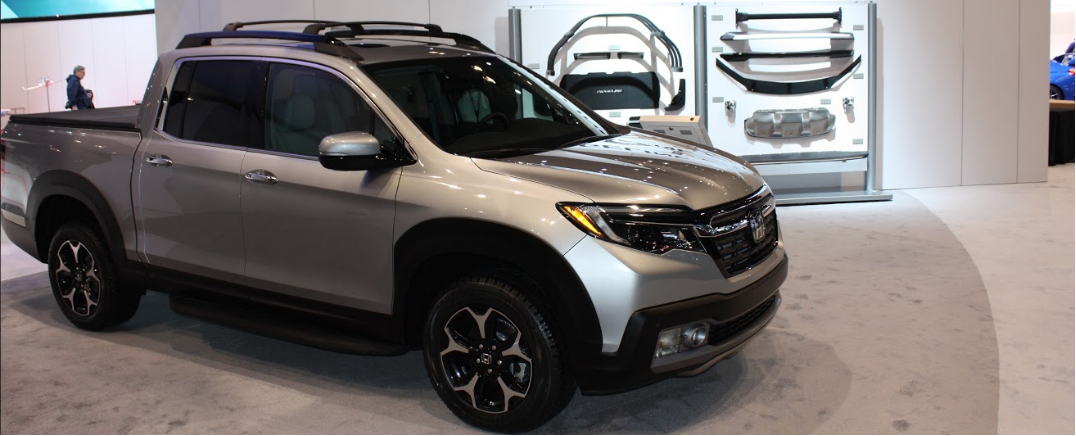 2017 Honda Ridgeline Accessories And Pictures From The Chicago Auto ...