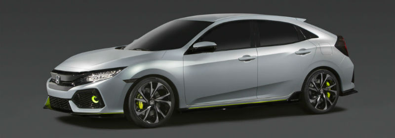 2017 Honda Civic Hatchback And Rally Car Revealed