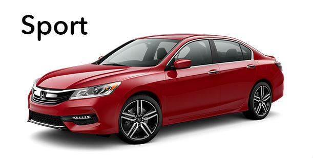 what features are standard on the 2016 honda accord sport. Black Bedroom Furniture Sets. Home Design Ideas