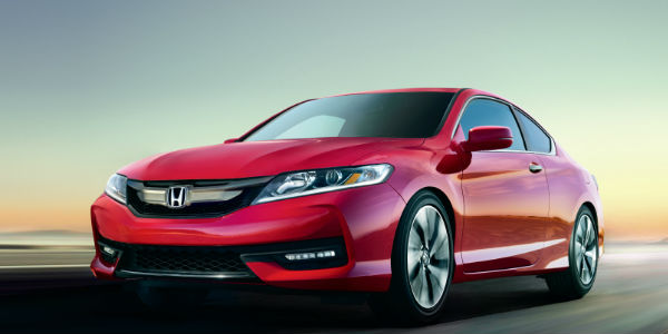 2016 Honda Accord Red Exterior View