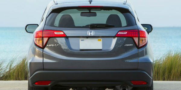 Exterior View of the 2017 Honda HR-V Lift gate View