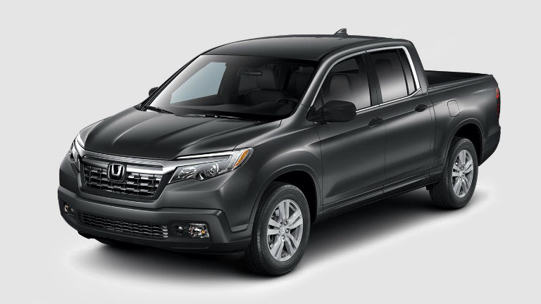 What colors does the 2017 Honda Ridgeline come in?