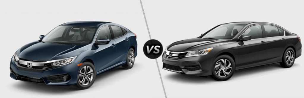 2017 honda civic vs 2017 honda accord. Black Bedroom Furniture Sets. Home Design Ideas