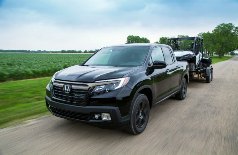 How Much Can The 2017 Honda Ridgeline Tow