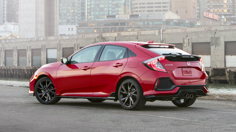 what colors does the 2017 honda civic come in