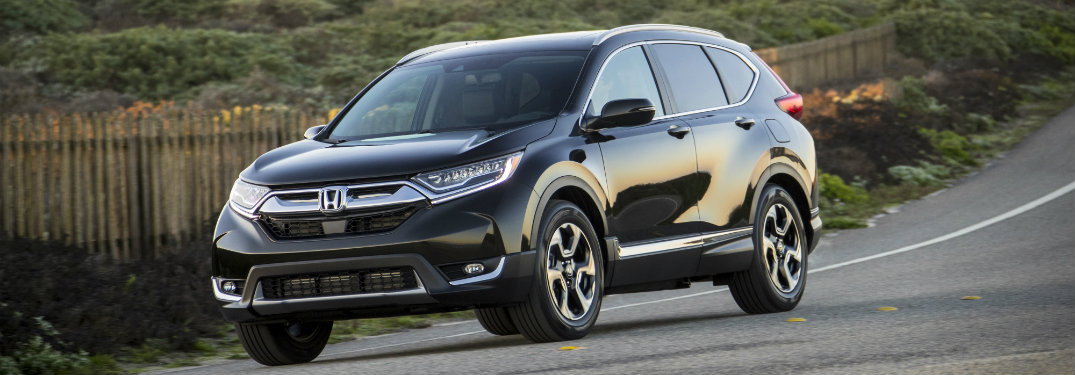 What safety features does the 2017 Honda CR-V come with