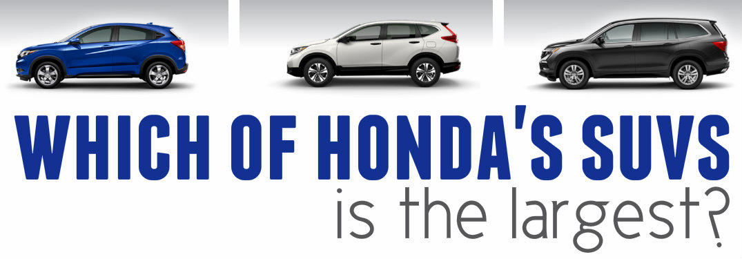 What is Honda's biggest SUV