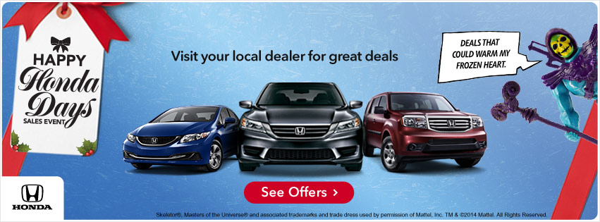Happy Honda Days Deals Kokomo IN