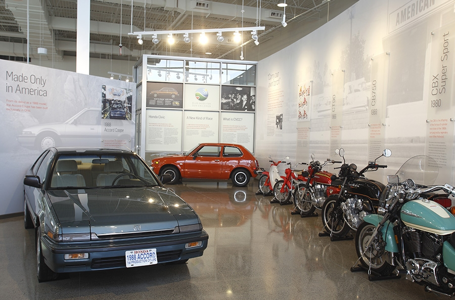Honda Heritage Center Museum
