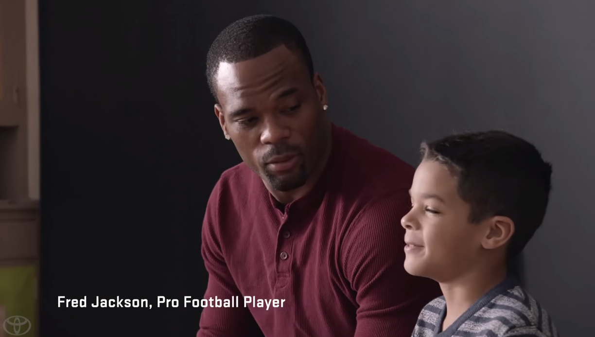 Toyota To Be a Dad Super Bowl Commercial
